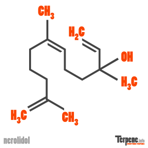 Nerolidol Molecule